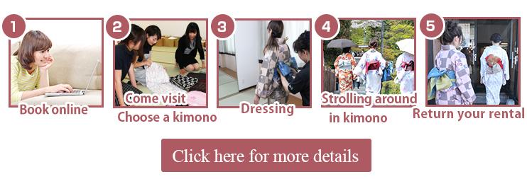 How to rent a kimono?